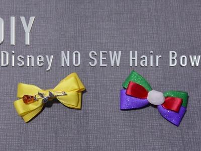 DIY. Disney Hair Bow. NO SEW