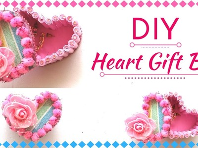 DIY Heart Gift Box for Valentine's Day - New Gift Decoration Ideas. Video Tutorial By MayaKalista!