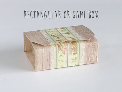 DIY: Rectangular Origami Box