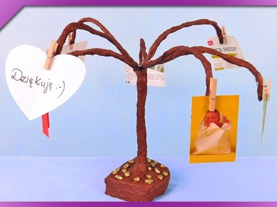 DIY Tree with photos and notes (ENG Subtitles) - Speed up #301