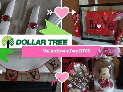 DOLLAR TREE DIY |  VALENTINE'S DAY 2017 | Love Shaker, Love Banner & More