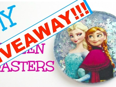 Frozen Coaster Giveaway!  Craft Klatch DIY!