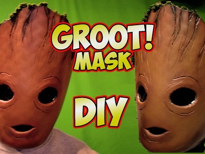 GROOT Baby Groot how to DiY mask Guardians of the Galaxy vol.2