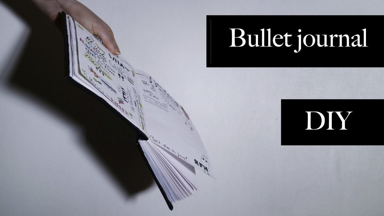 How to make a book.bullet journal.DIY