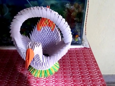 How to make a Creative Duck of paper fold