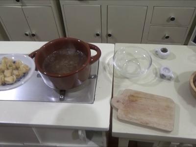 I broke my collection!!! Recipe; Wanton Soup (ASMR) (Miniature Cooking) (minifood) (DIY)
