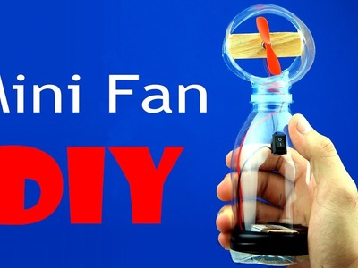 Mini Toy Fan DIY -  Simple and Easy