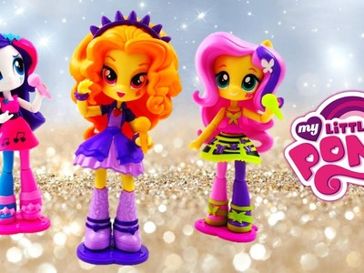 NEW Adagio Dazzle Fluttershy Rarity Rocking Rainbow Rocks Equestria Girls Minis | Evies Toy House