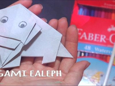 Origami animals - origami elephant - origami for kids  - origami animals