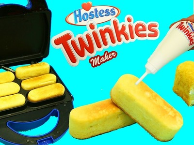 TWINKIES MAKER Hostess Cream Filled Cakes DIY Desserts Make Your Own Twinkies by DisneyCarToys