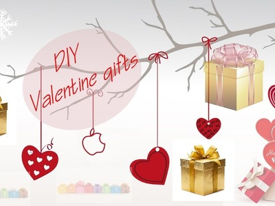 VALENTINE GIFTS - DIY (amazing gifts for him or her )