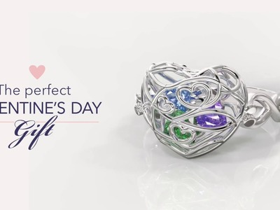 Valentine's Day Gifts: Cage Jewelry