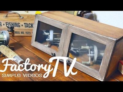 Wood Showcase DIY.100均DIY.