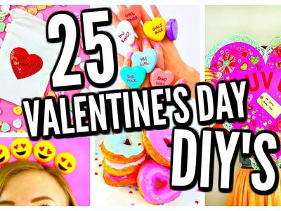 25 DIY Valentine's Day Gift Ideas, Room Decor, & Treats! 2017