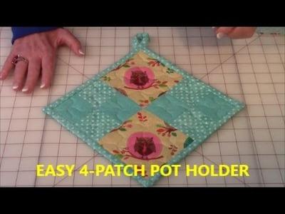 4 Patch Pot Holder