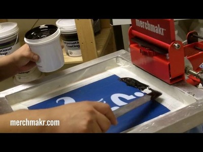 5 Five Ways to Make a Screen Pinting Screen with Merchmakr HD