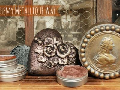 Art Alchemy Metallique Wax - tutorial