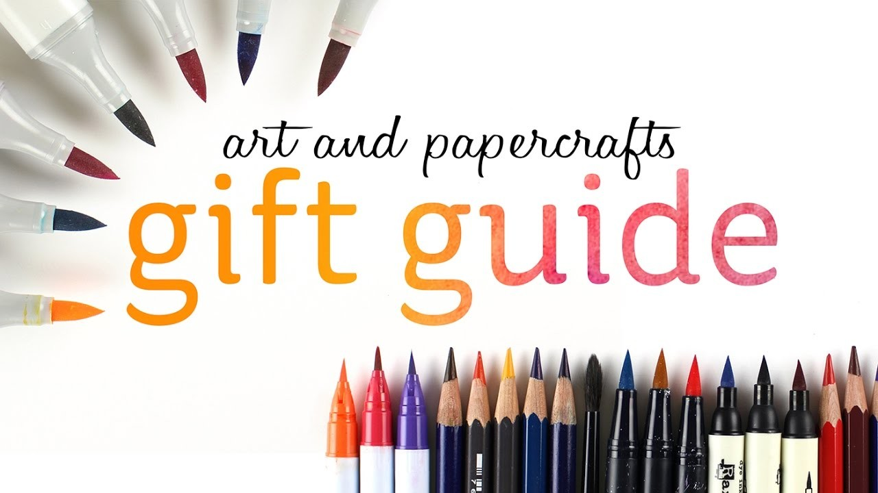Art and Papercrafting Holiday Gift Guide