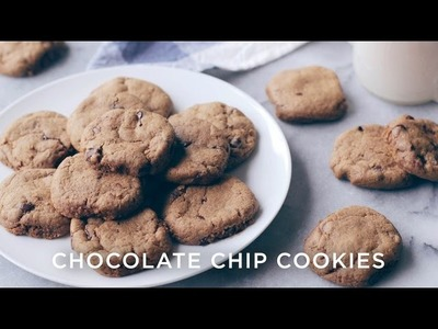 BEST CHOCOLATE CHIP COOKIES EVER! | Healthy + Vegan!
