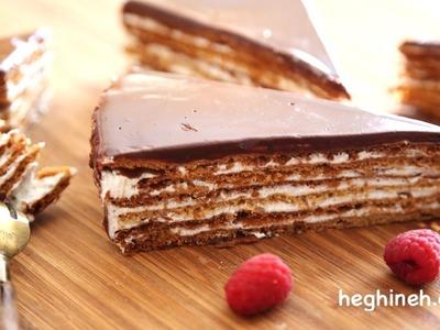 Bird Milk Cake Recipe - Heghineh Cooking Show