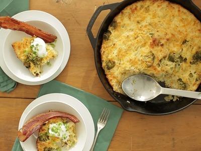 Cheesy Broccoli and Potato Casserole - Everyday Food with Sarah Carey