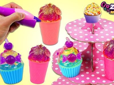 Cra-Z-Doodle 3D Pen So Sweet 3D Shop Playset! Make Your Own 3D Desserts! + TMNT Cra-Z-Art Gel Pen!