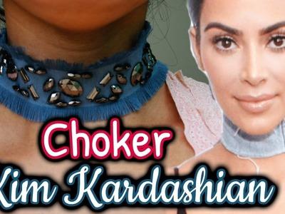 DIY: Choker Jeans - Kim Kardashian Inspired
