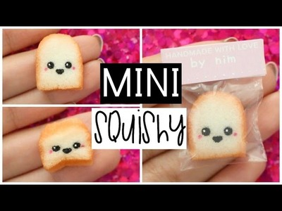 DIY MINI TOAST SQUISHY - World's Smallest Squishy!