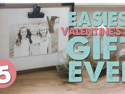 DIY Photo Clip Frame | VALENTINE'S GIFT IDEA | Shanty2Chic