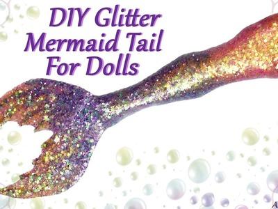 DIY Sparkly Doll Mermaid Tail -  Craft Tutorial