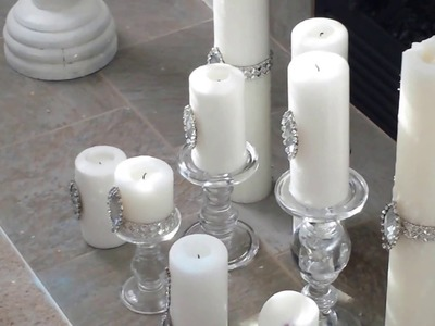 DIY WITH VASE FILLER AND USING WHITE ACCENTS!
