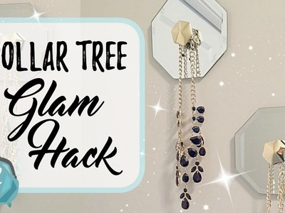 DOLLAR TREE   Glam Hack to Organize Necklaces!