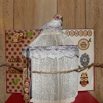 Family Altered Book.