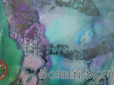 Fine art show with Doreen McNeill on Colour In Your Life featuring her Amazing Abstract Paintings