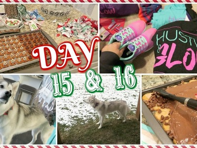 Grey Scared Of Snow? + My Ritz Cracker Dessert | Vlogcember Day 15 & 16, 2016