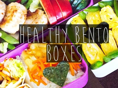 How to | 3 DIY Healthy Bento Box Recipes collab w. Cristina Viseu | Eva Chung