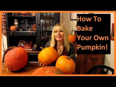 How To Bake Pumpkin For Pies and Breads