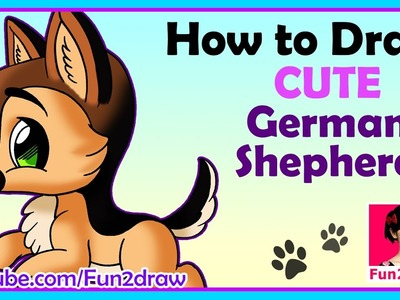 How to draw a dog | Draw Easy, Draw Cute!