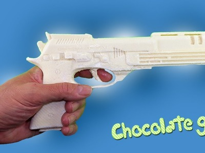 How to Make a Chocolate Gun With Jelly Shape DIY Gummy Pudding Recipe