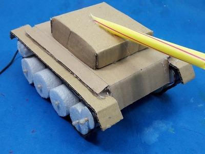 How to Make a Control Tank - DIY RC Tank
