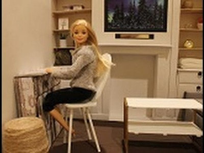 How To Make A Doll Chair : DIY Barbie Doll Craft
