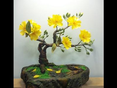 How To Make Artificial Bonsai Tree  - Craft Tutorial