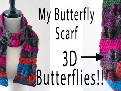 My Butterfly Scarf Tutorial