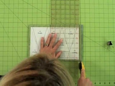 Quilting Tutorial - Using Templates and Template Layout Sheets for Efficient and Fast Cutting