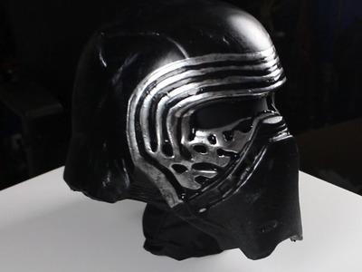 Rubie's Kylo Ren Helmet Mod Tutorial (Kylo Ren Cosplay Part 4)