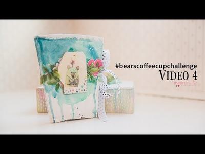 Scrapbooking Coffee Cup Album Tutorial: Video 4 Binding!