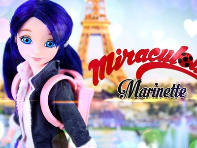 Unbox Daily:  Miraculous Marinette - Tales of Ladybug and Cat Noir - Doll Review - 4K
