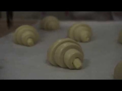 9. How to make croissants!