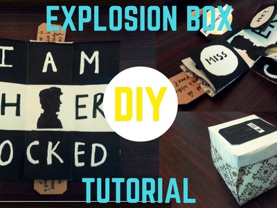 DIY Explosion Box Tutorial (Fandom.Sherlock)