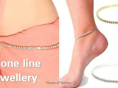 DIY Ideas||How to Make Stone lineJewellery. !!